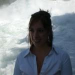 Les chutes du Rhin avec Sarah