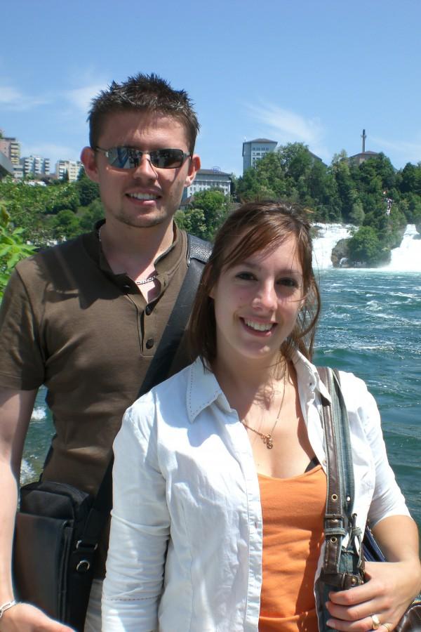 les chutes du Rhin avec Maxime et Sarah