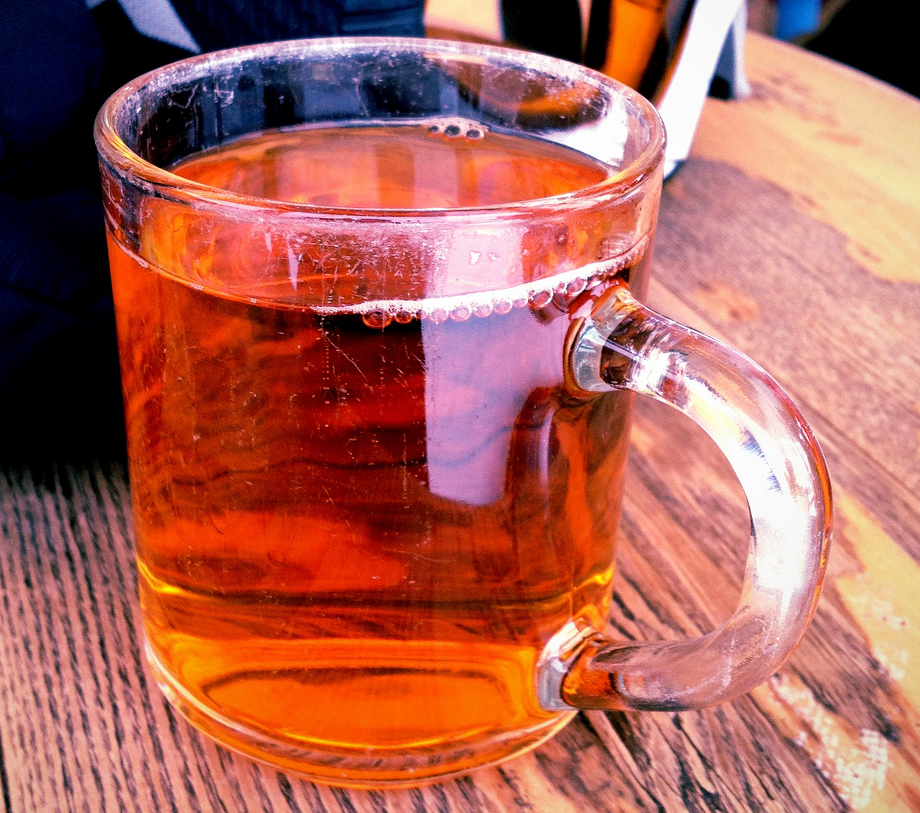 une verre de Jägertee