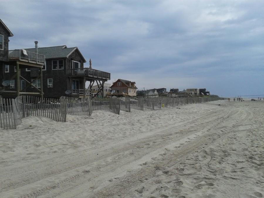 maisons en bout de plage Ocean Bay Park
