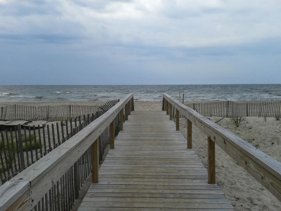plage au bout du ponton Ocean Bay Park
