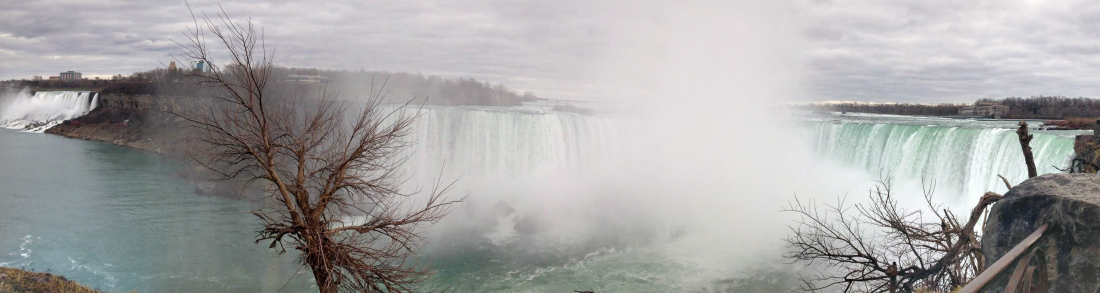 chutes Niagara panorama