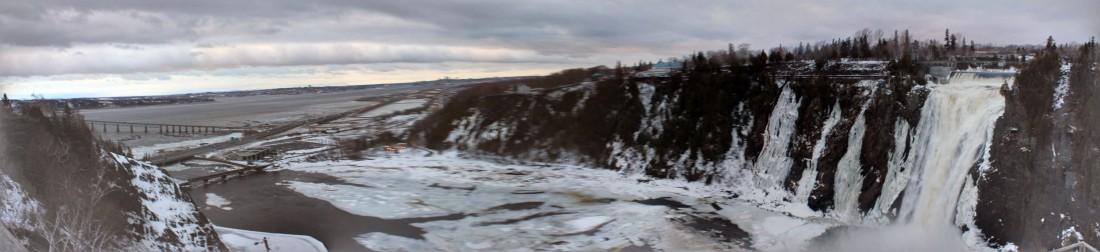 panorama chute montmorency
