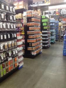 coût de la vie, supermarché à New York City