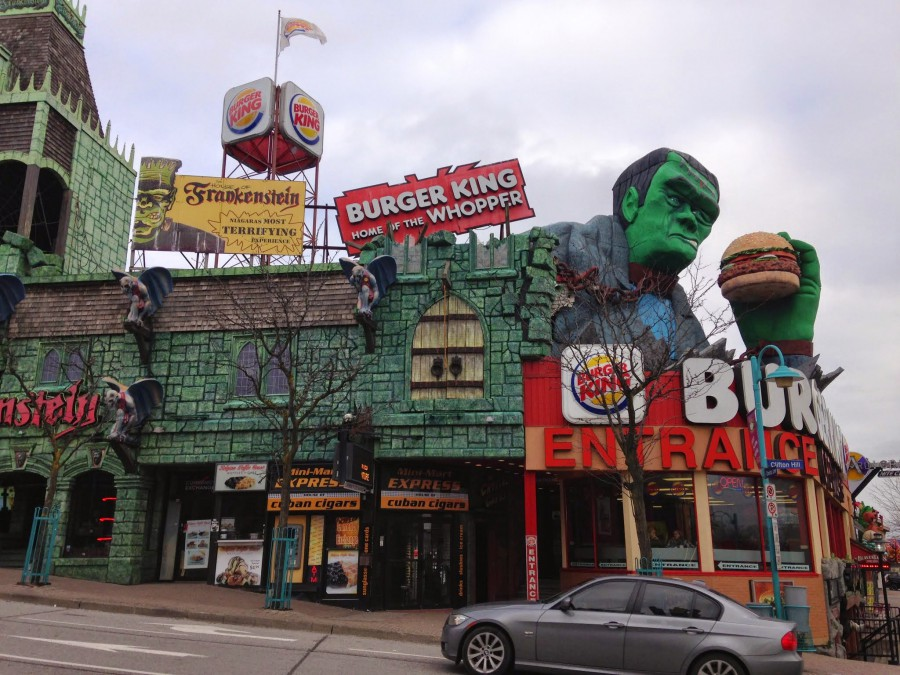 burger king et frankenstein niagara