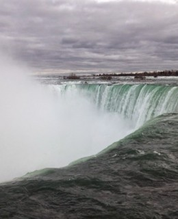 la chute canadienne de Niagara, Fer-à-cheval