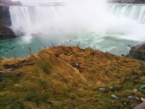 La poubelle des chutes du Niagara