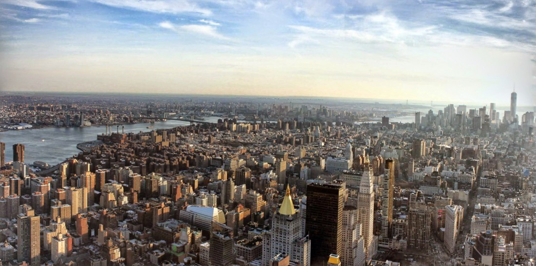 panorama jour sud manhattan