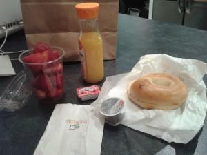 petit déjeuner américain