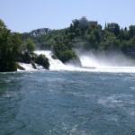 les chutes du Rhin en Suisse