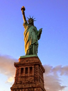Statue de la Liberté de jour