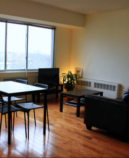 l'intérieur de l'appartement