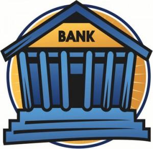 dessin pour représenter une banque