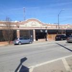 le quartier de Blue Dome Market à Tulsa