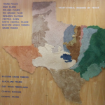carte de la nature, Texas