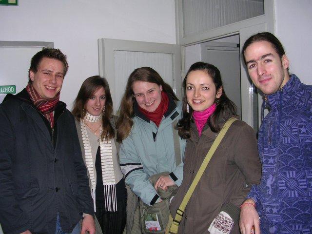 départ en soirée Erasmus à Maribor