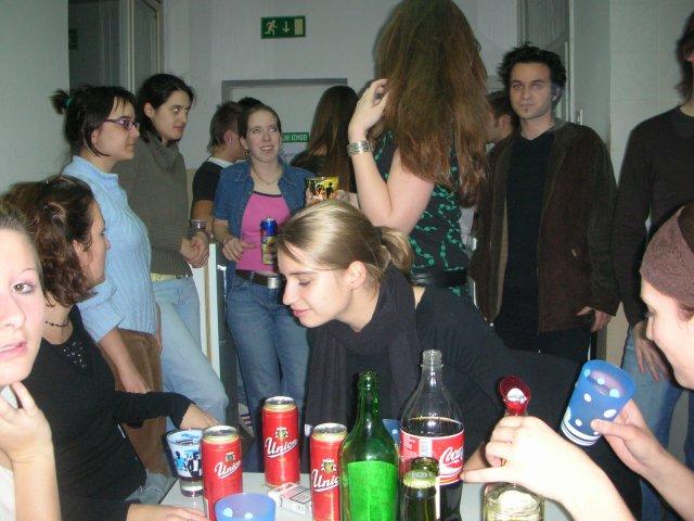 soirée dans la cuisine de Tyrševa, cité U de Maribor