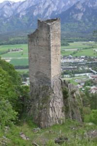 La tour de Haldenstein en Suisse