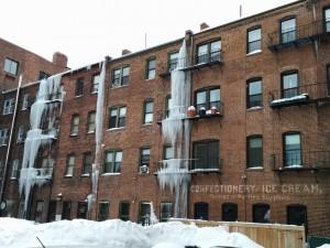 stalactites sur 3 étages Fabriquant de crème glacée