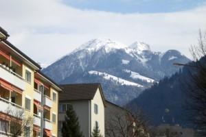les Alpes à Coire, stage en Suisse alémanique