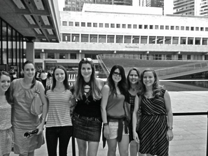 groupe meetup les filles à Lincoln Square