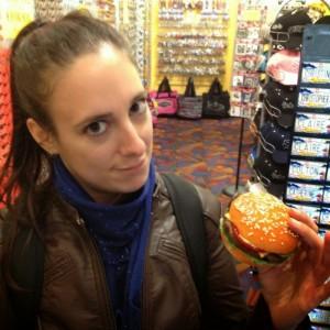 un magnet en forme de burger