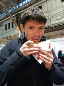 manger un stroopwafel