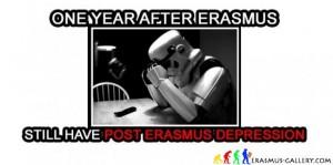 dépression après un an d'être revenu de Erasmus