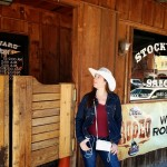 l'entrée d'un saloon, à Stock Yard, Fort Worth, Texas