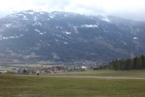 vallée sur Coire / Chur en Suisse