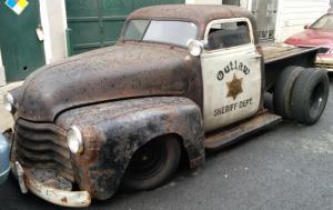 voiture du shérif