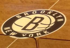 le sol du terrain de basket barclays center