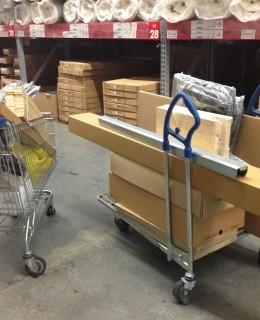 meubler un appartement à Brooklyn, meubles en kit au magasin Ikea