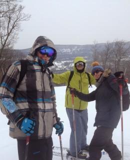 sur les pistes de Mountain Creek, station de ski