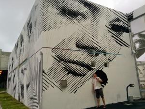 street art de Miami avec Maxime