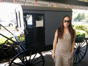 une calèche Amish