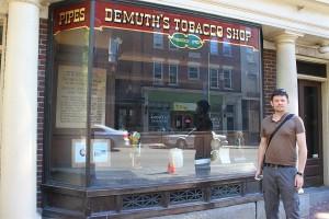 Demuth's Tobacco shop à Lancaster, USA