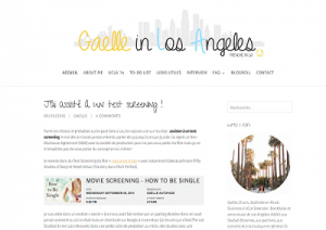 gaelle in los angeles screenshot