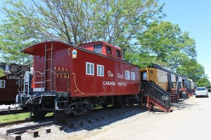 red caboose hotel