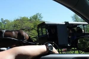sur la route, Amish country