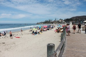 Laguna beach en Californie
