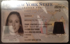 permis de conduire temporaire américain