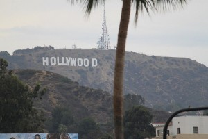 les lettres HOLLYWOOD