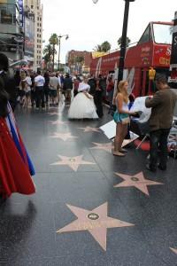 Les étoiles des Stars à Hollywood, Californie