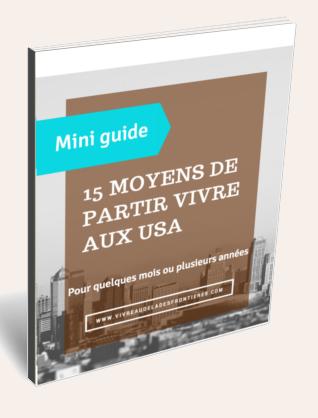 ebook-cover 15 moyens partir vivre aux USA beige