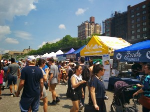 le marché de Sporgasburg à Brooklyn Height