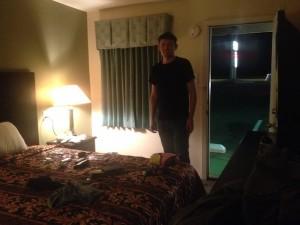 dans un motel glauque