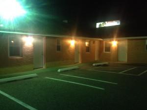 un motel bon marché