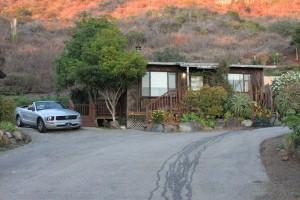 route le long de la côte du pacifique highway 1 de San Franscisco à Los Angeles cottage à Gorda