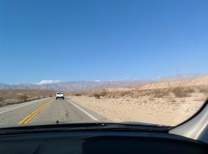 en route desert